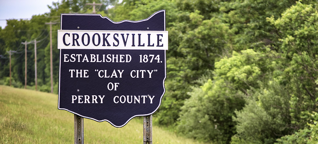Village of Crooksville - Historical Sign