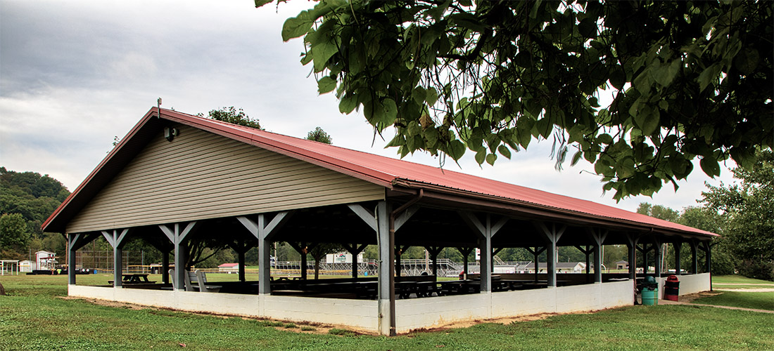 Village of Crooksville - Village Park - Large Shelter House