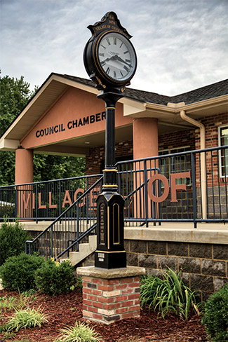 Village of Crooksville - Village Clock